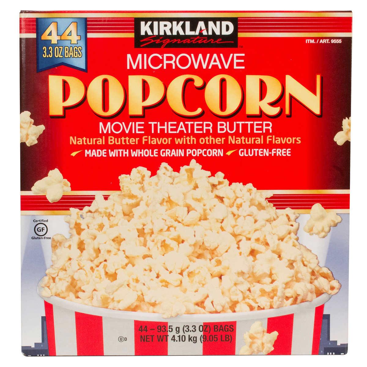 Image result for kirkland brand microwave popcorn