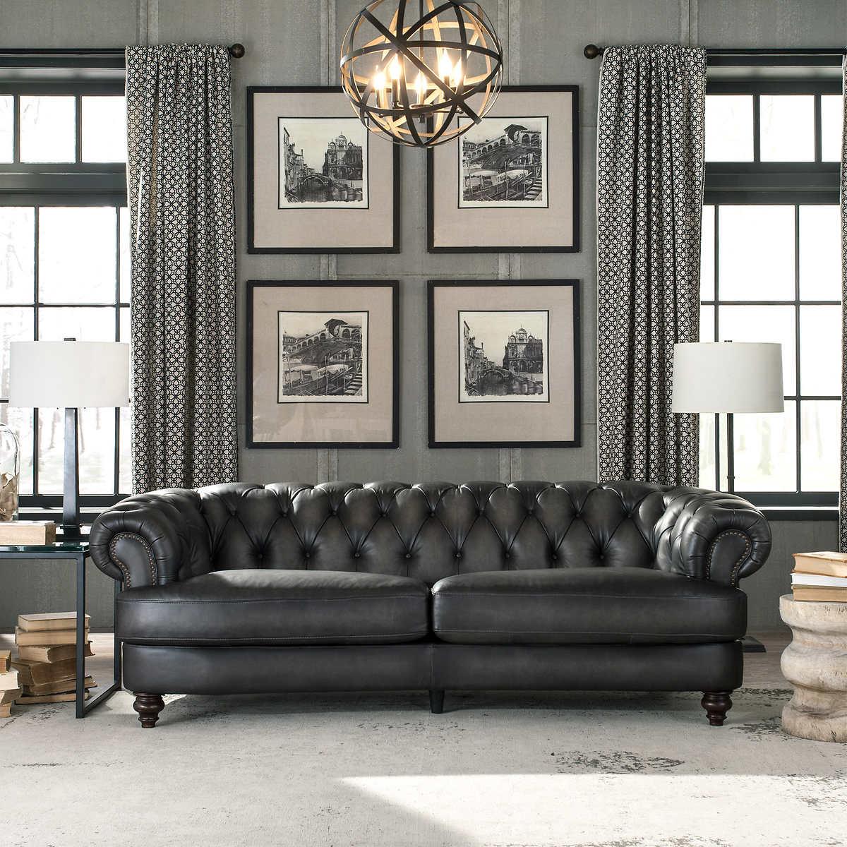 Glenbrook Leather Sofa