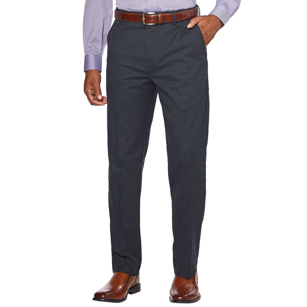 6158250cddfb Kirkland Signature Men s Non-Iron Comfort Pant. black 1 black 1