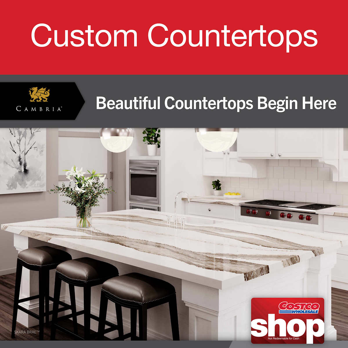 Cambria Custom Countertops
