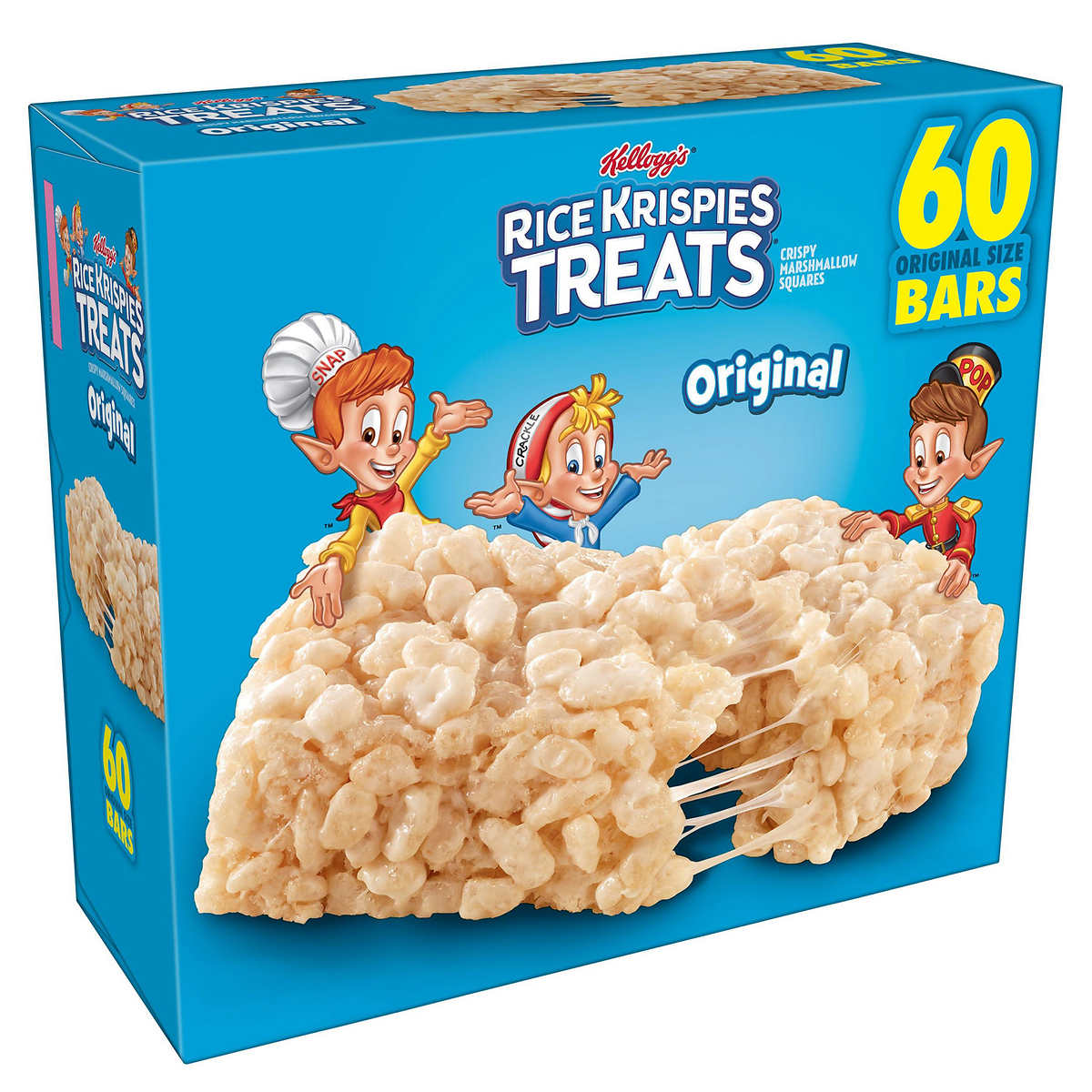 Kellogg's Rice Krispies Treats, 0 78 oz, 60-count