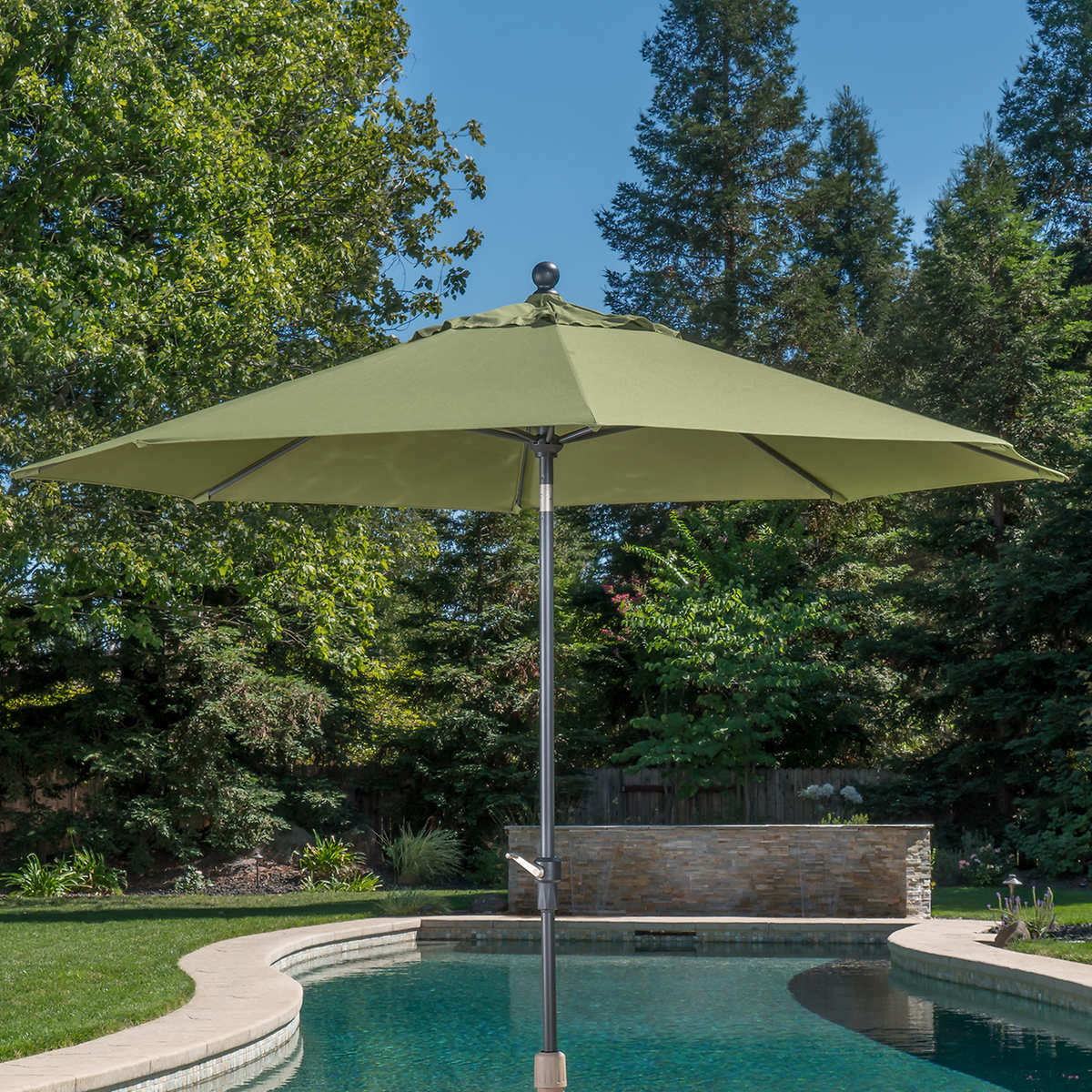 02da0bf94f7e5 ... ProShade 10' Auto Tilt Aluminum Umbrella. green 1 green 1