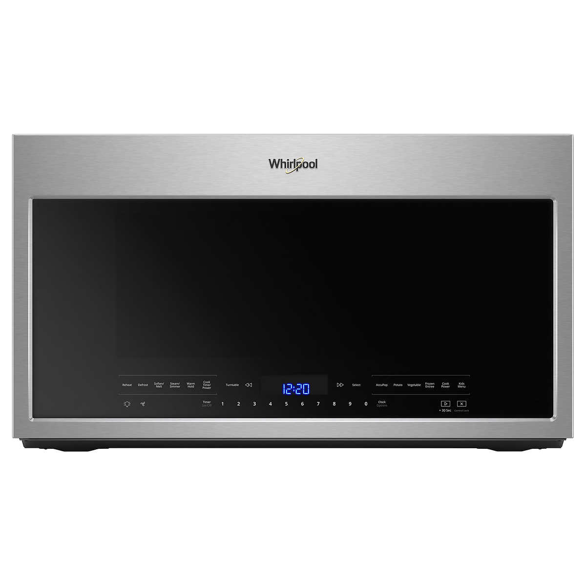 Whirlpool 19 Cu Ft Over The Range Microwave With Scan To Cook Mechanical Timer Wiring Diagram Technology In Fingerprint Resistant Stainless Steel