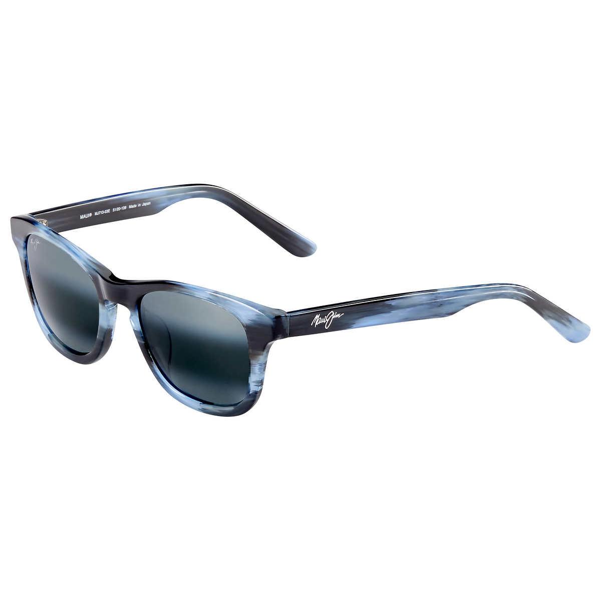 32cbb51199 Maui Jim Ka a Point 713-03E Blue Polarized Sunglasses