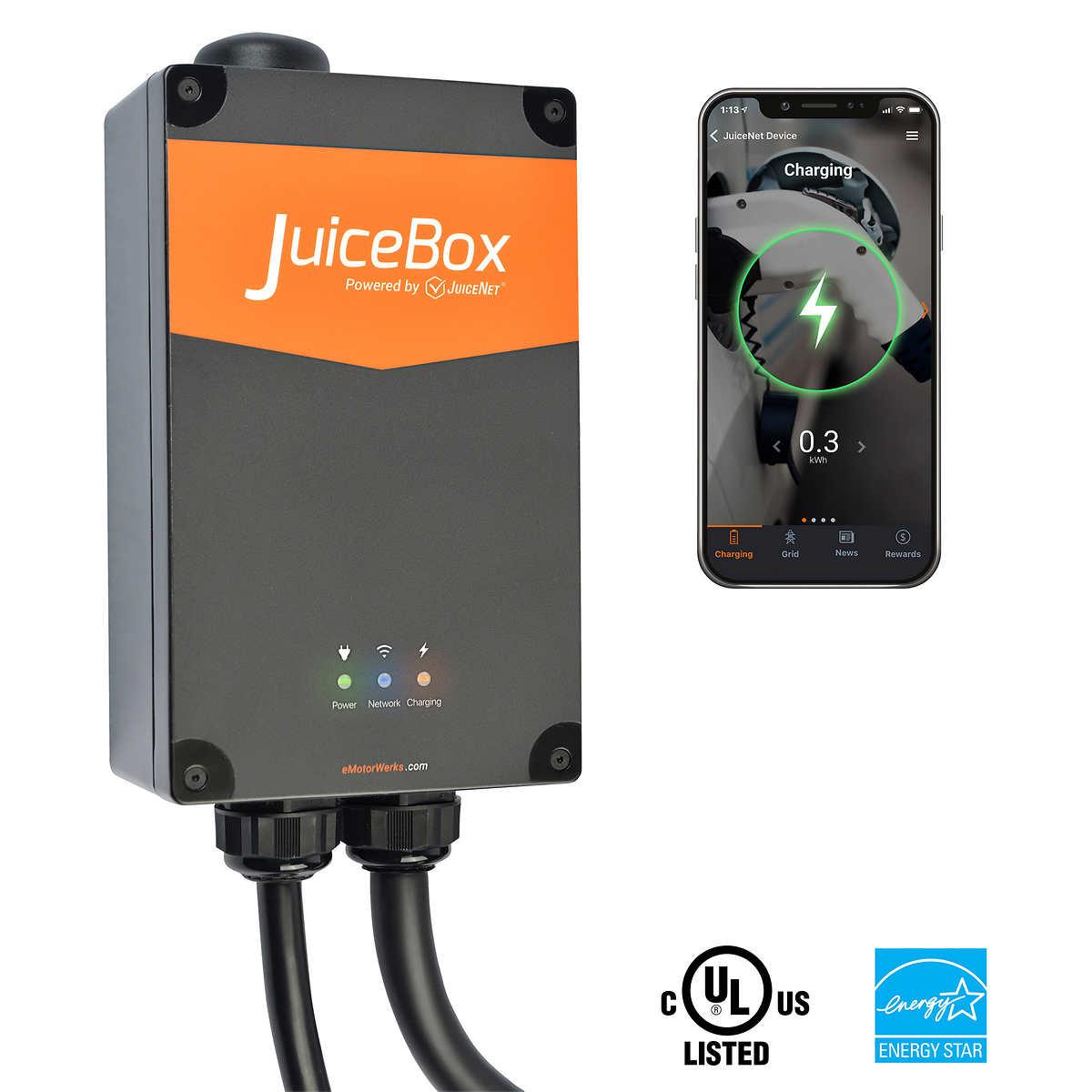 JuiceBox Pro 40 Amp Electric Vehicle Charging Station EVSE