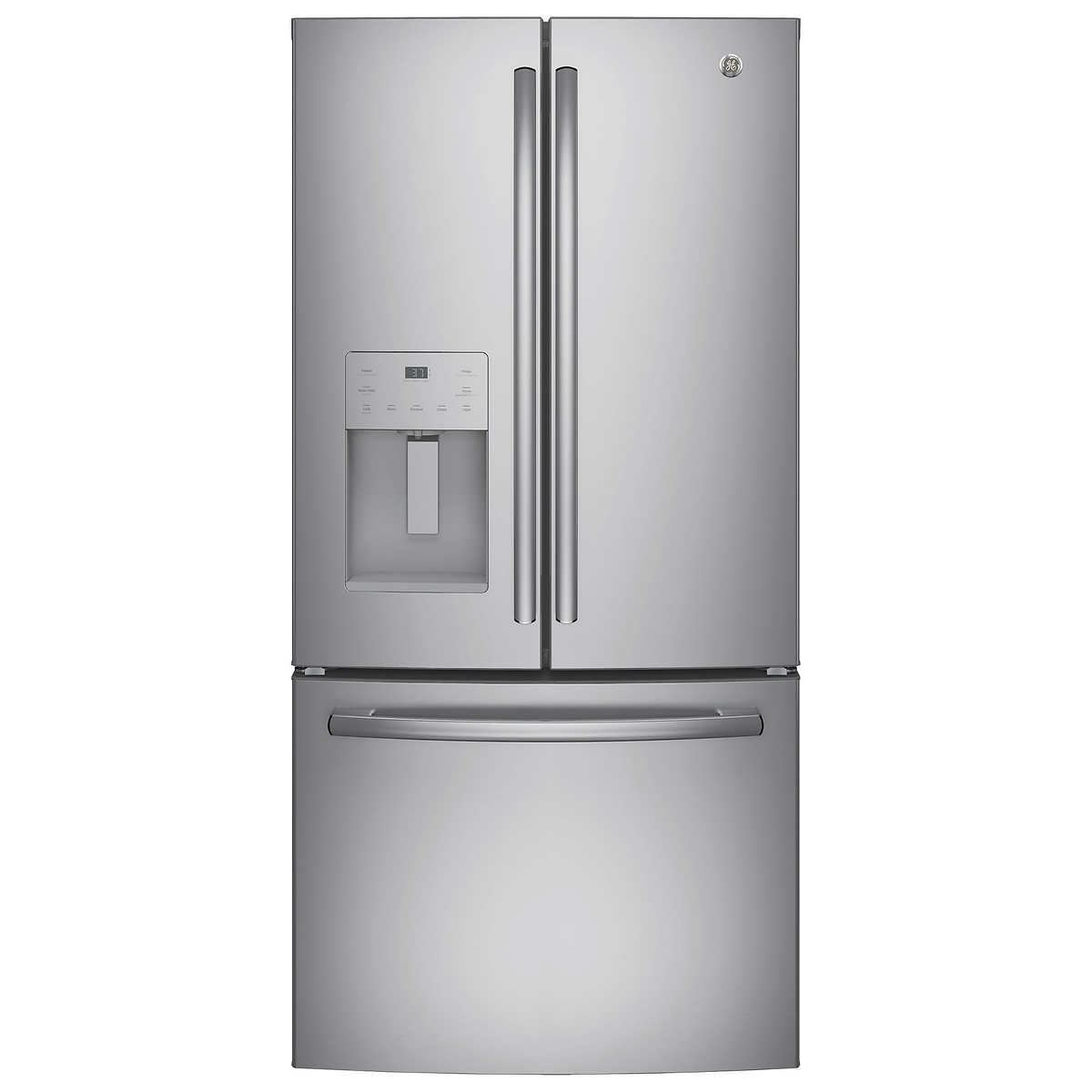 Ge 238cuft 33 wide 3 door french door refrigerator 33 wide 3 door french door refrigerator click to zoom rubansaba