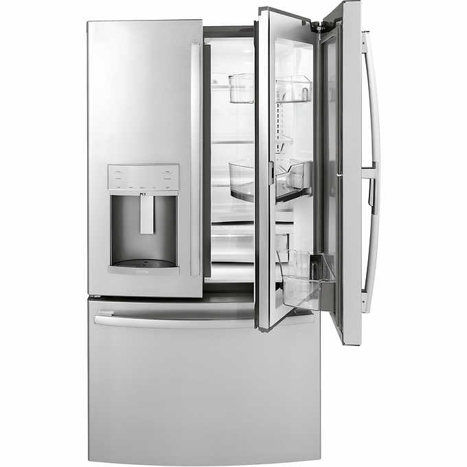 Ge Profile 222cuft French Door Counter Depth Refrigerator