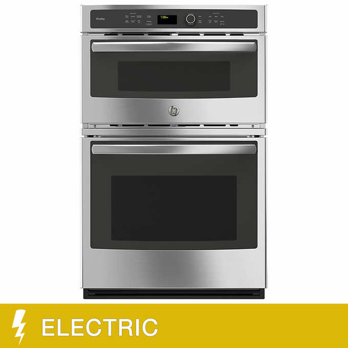 Ge Profile 27 Inch Electric Combination Microwave Wall Oven With Convection And Gl Touch Controls