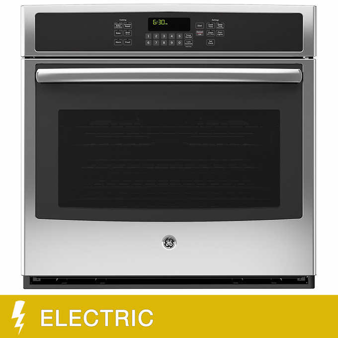 Ge 30 In Single Electric Wall Oven With Convection And Steam