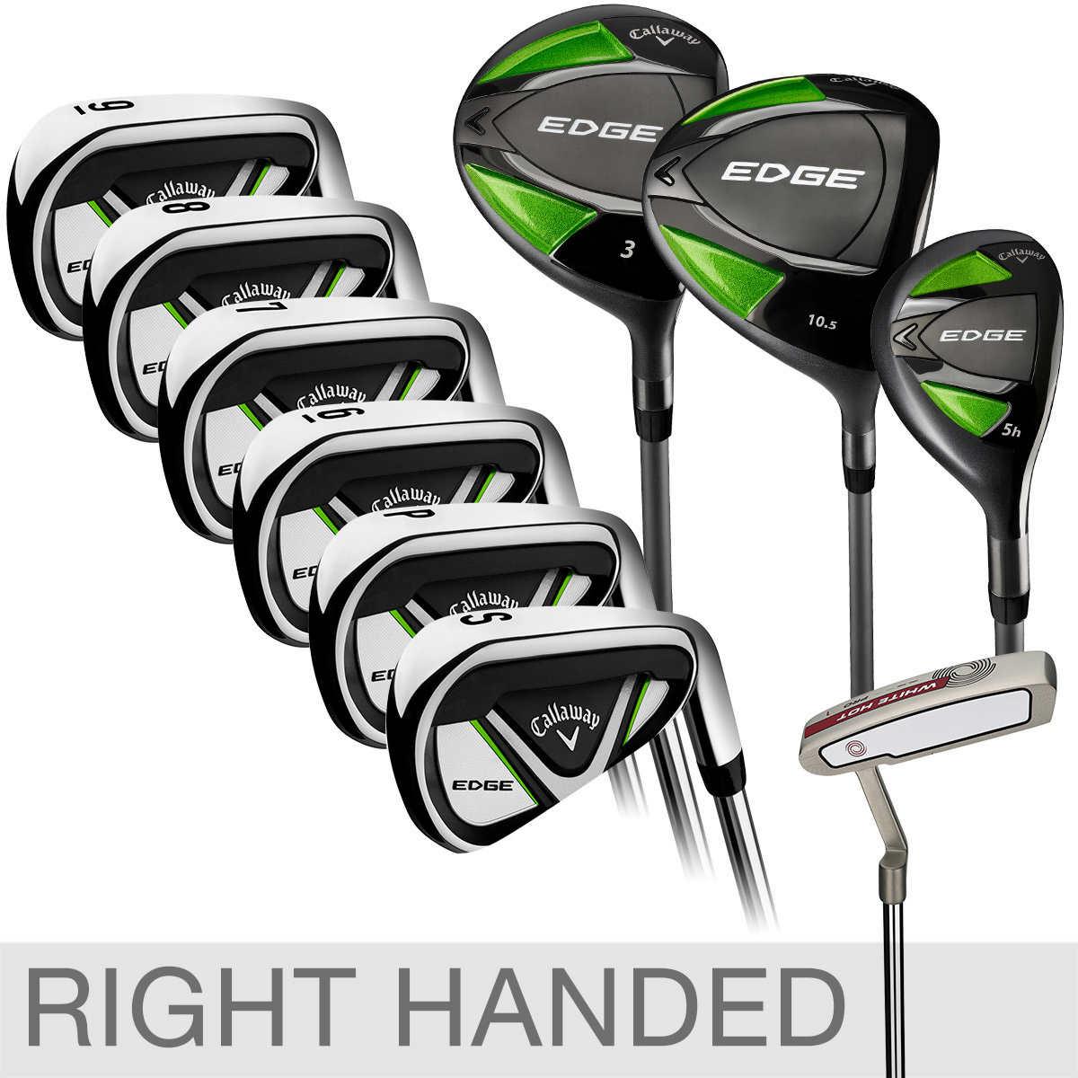 Callaway Edge 10-piece Golf Club Set, Right Handed