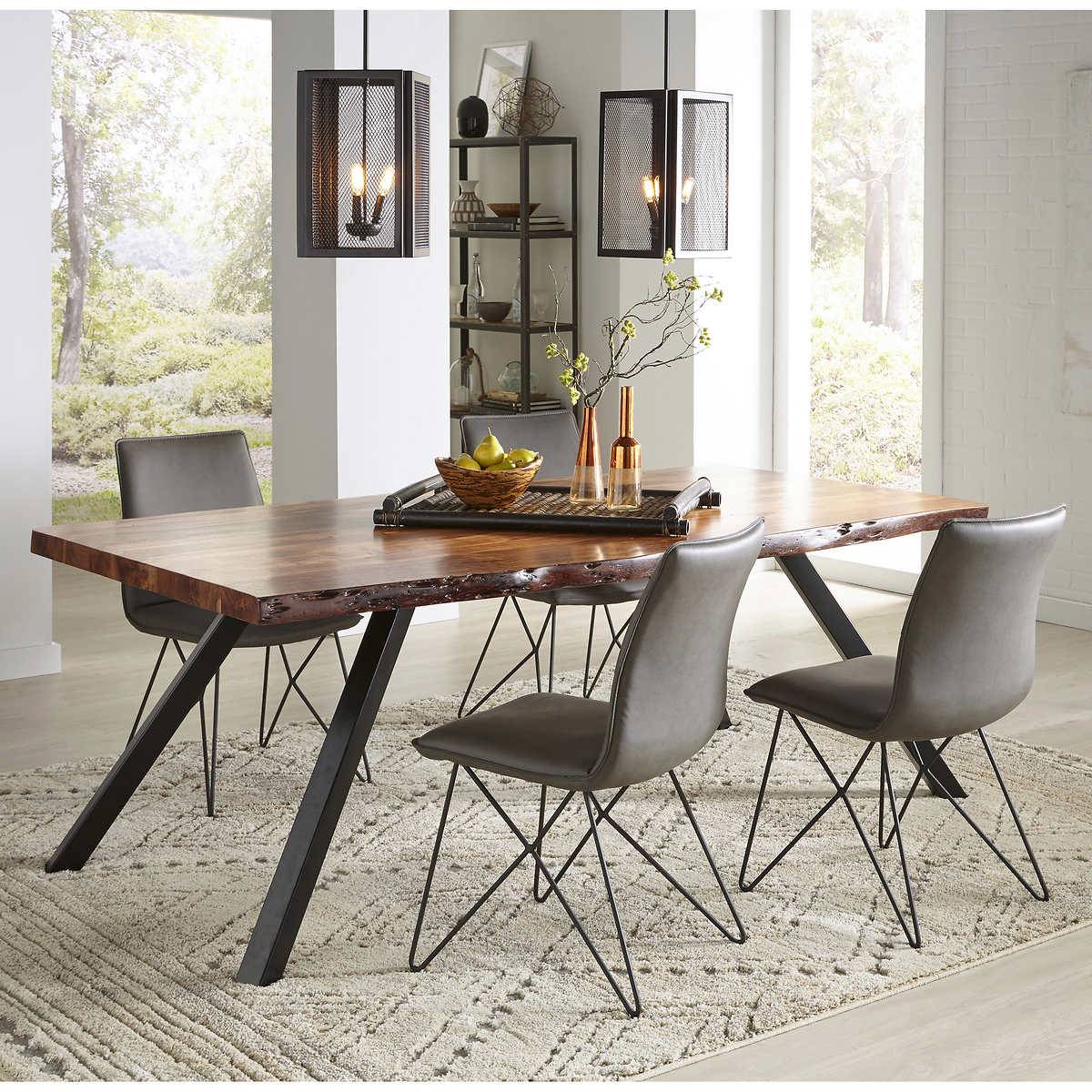 North Beach Live Edge Dining Table