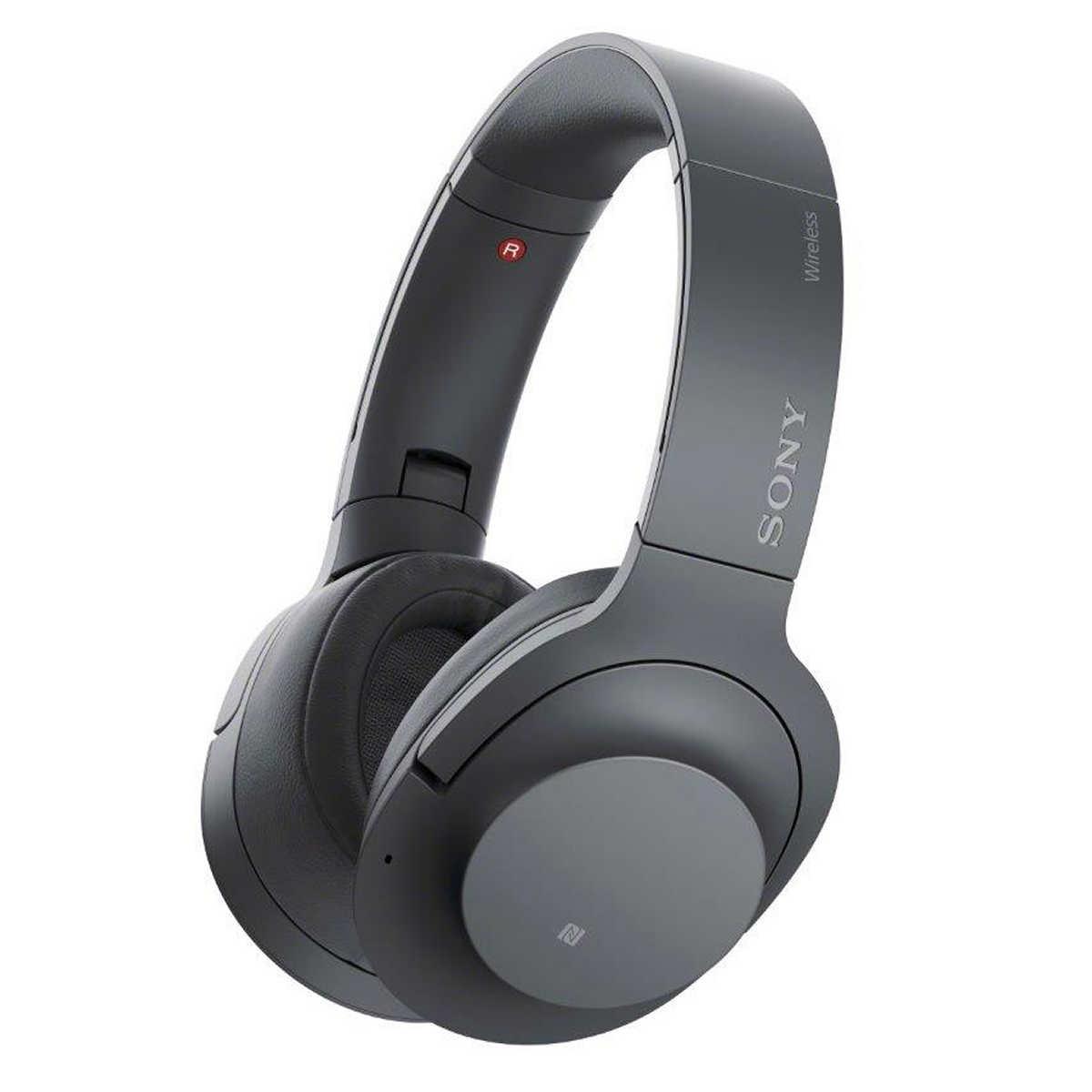 Sony WHH900N/BDC Bluetooth Noise Canceling Headphones, Black