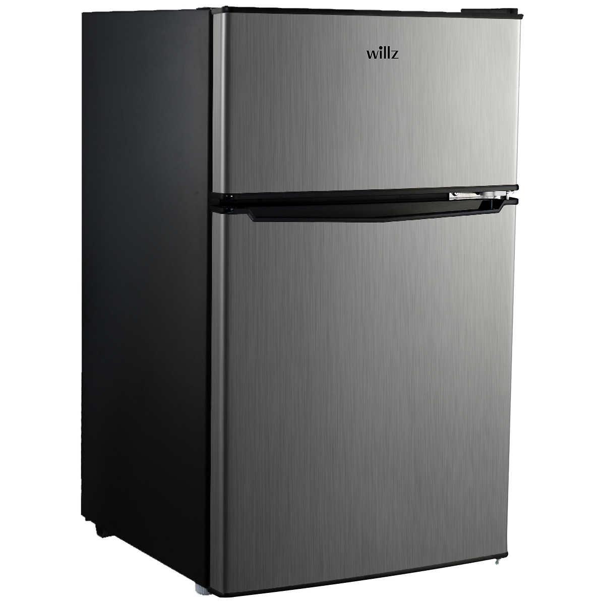 Willz 3 1 cu ft Energy Star Compact Refrigerator WLR31TS1E