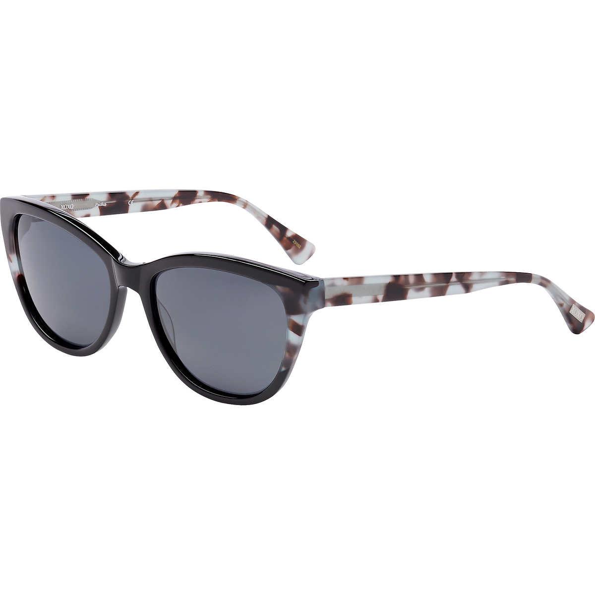 5dcd00e8fc XOXO Pacifica Black Polarized Sunglasses. 1 1