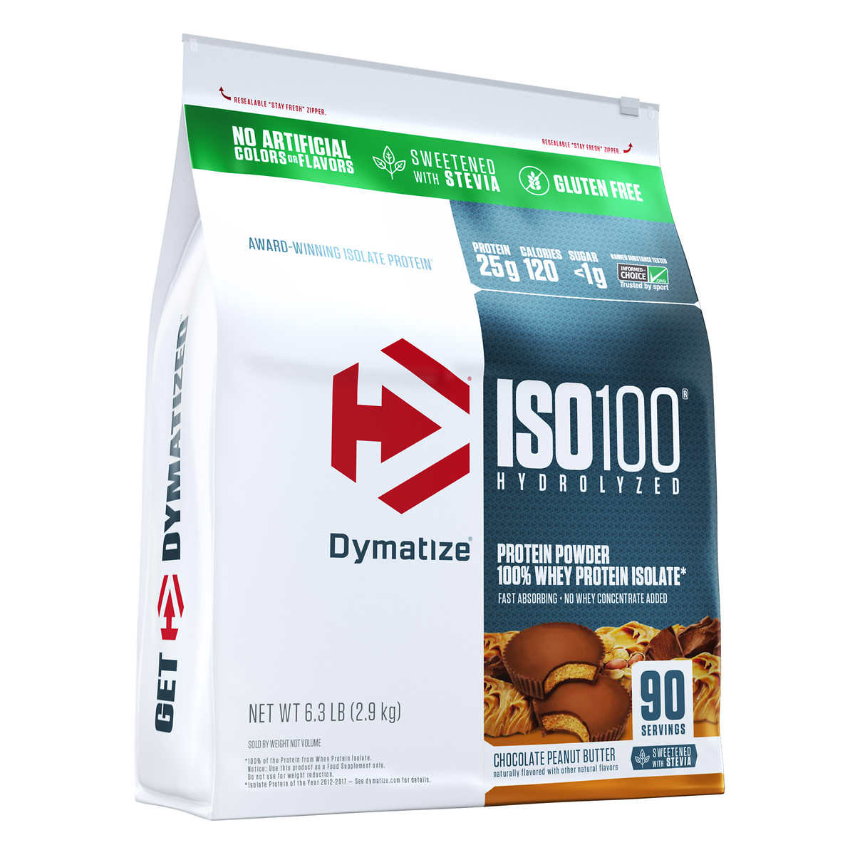 Dymatize ISO100 Hydrolyzed 100 Whey Protein Isolate 1