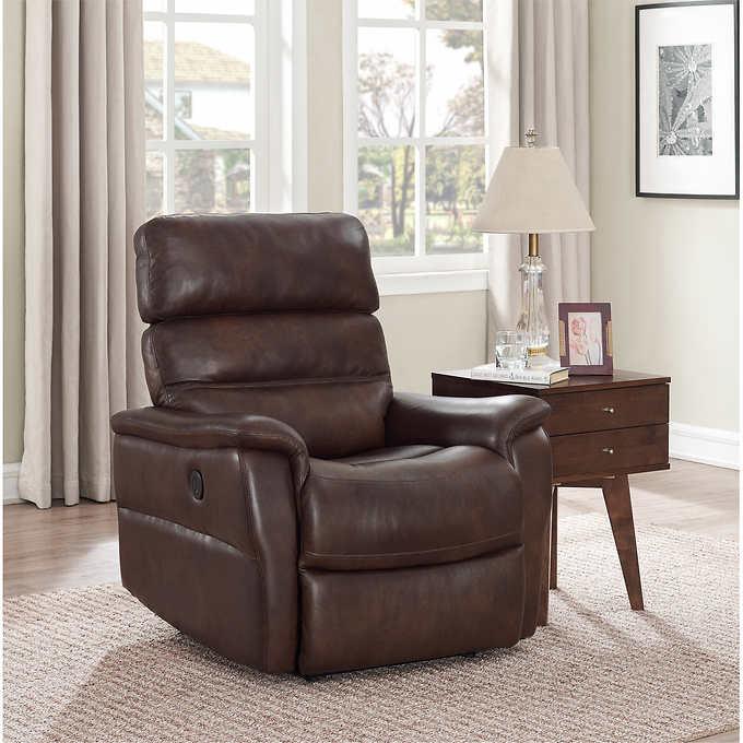 Fine Clifton Leather Power Recliner Short Links Chair Design For Home Short Linksinfo