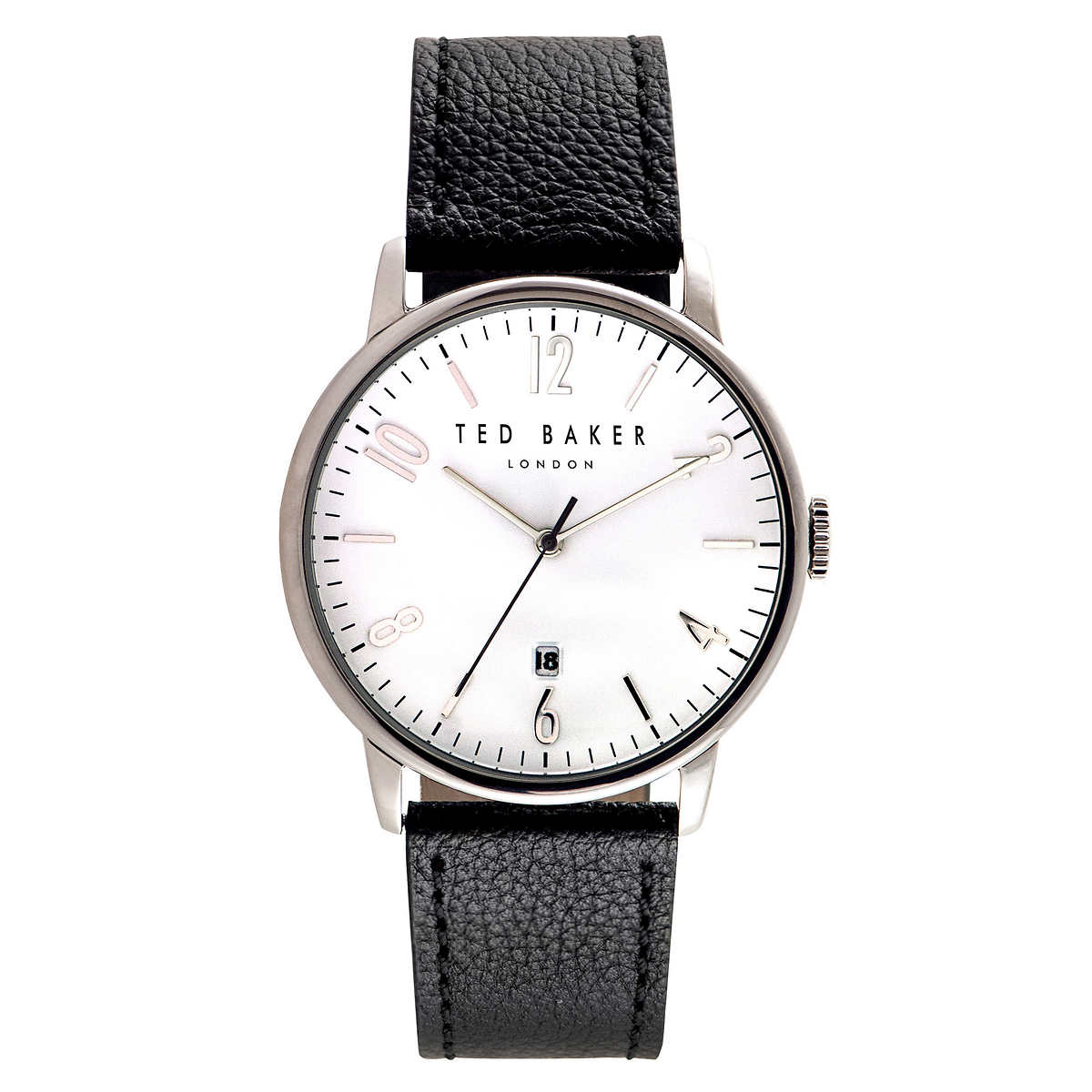 c83ea2899dbc Ted Baker Black Leather Strap Men s Watch. 1 1