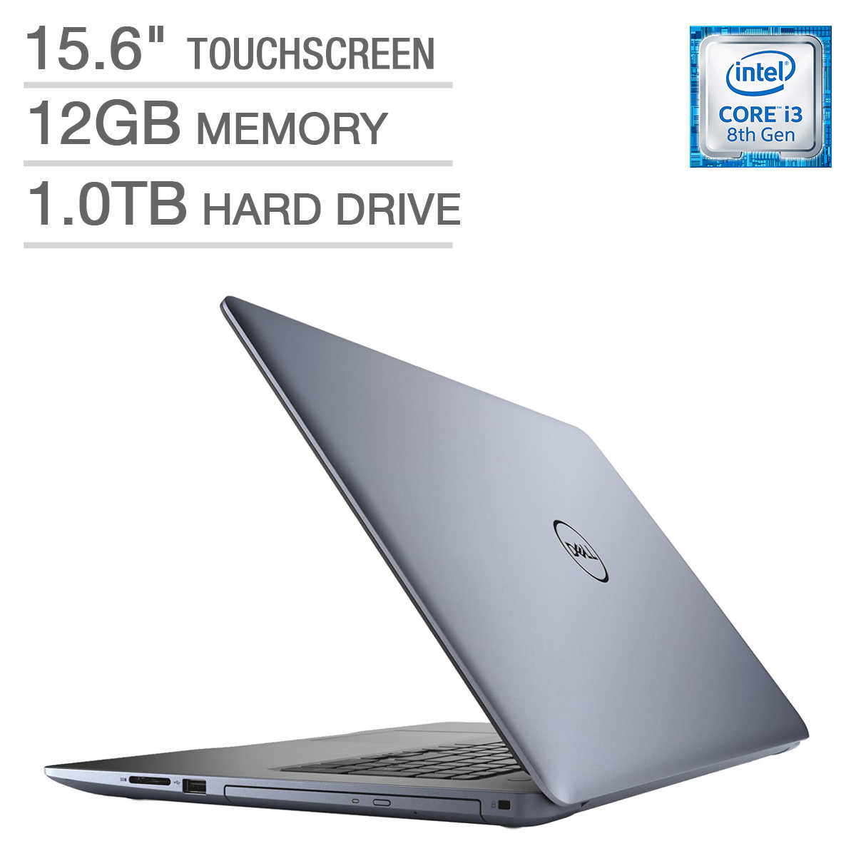 Dell Inspiron 15 5000 Series Touchscreen Laptop - Intel Core i3 - 1080p -  Blue