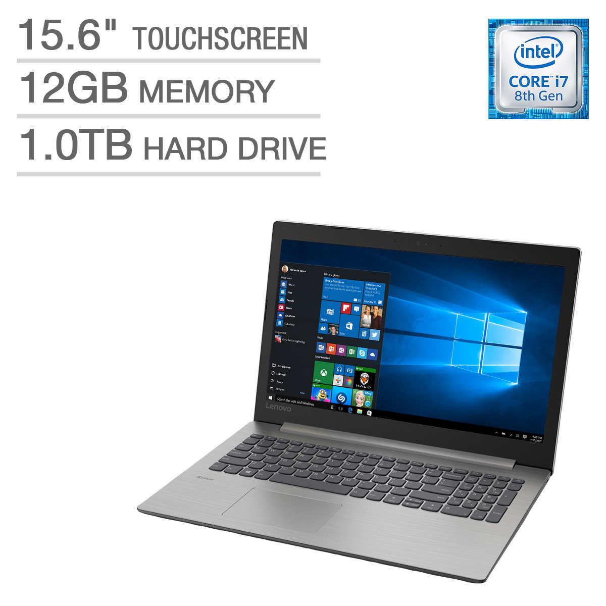 Lenovo Ideapad 330 15 Touchscreen Laptop - Intel Core i7
