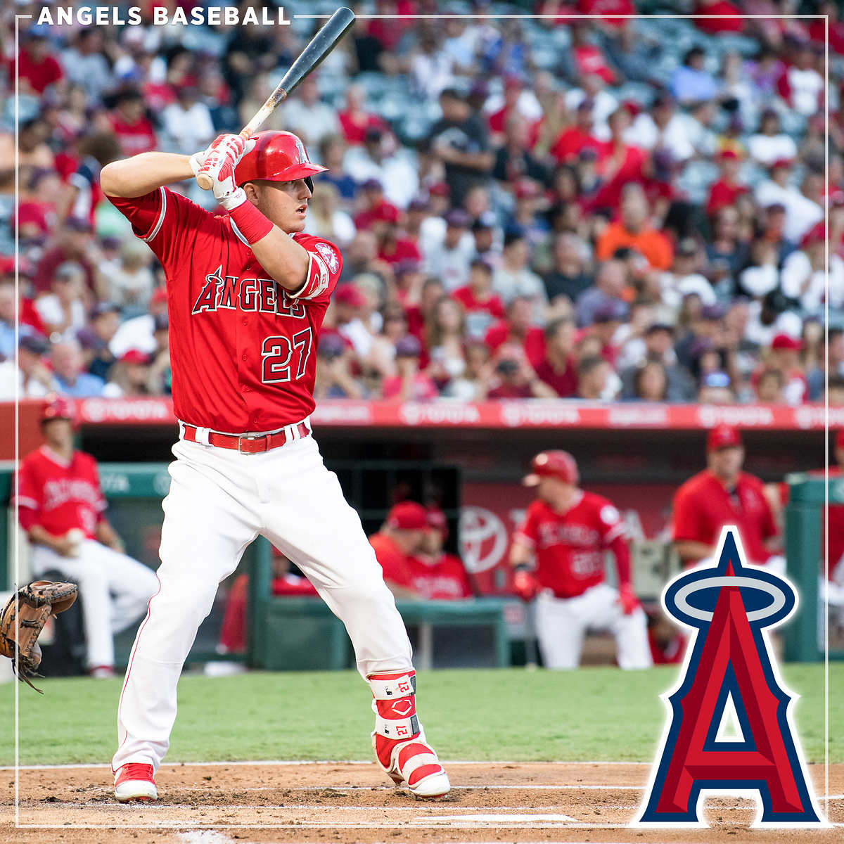 Los Angeles Angels Two Terrace or Club All Star Seats eVouchers, Anaheim