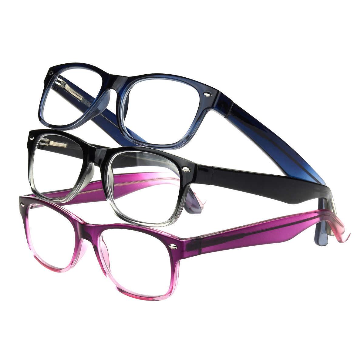 09ab40ec5 Design Optics by Foster Grant, Laney Full Rim Plastic Reading ...