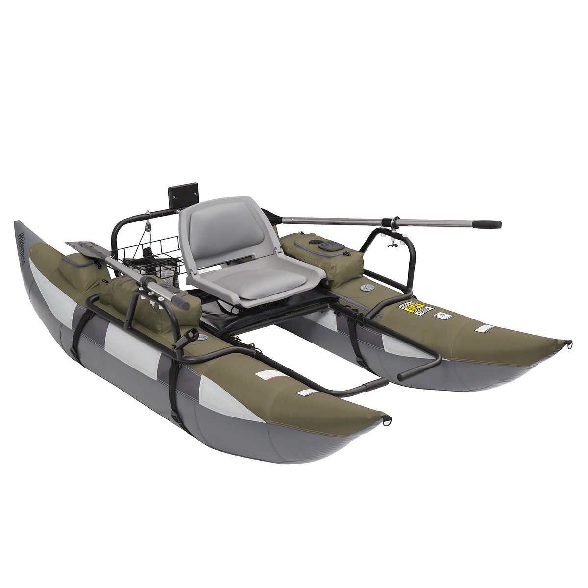 Wilderness 9' Inflatable Pontoon Boat
