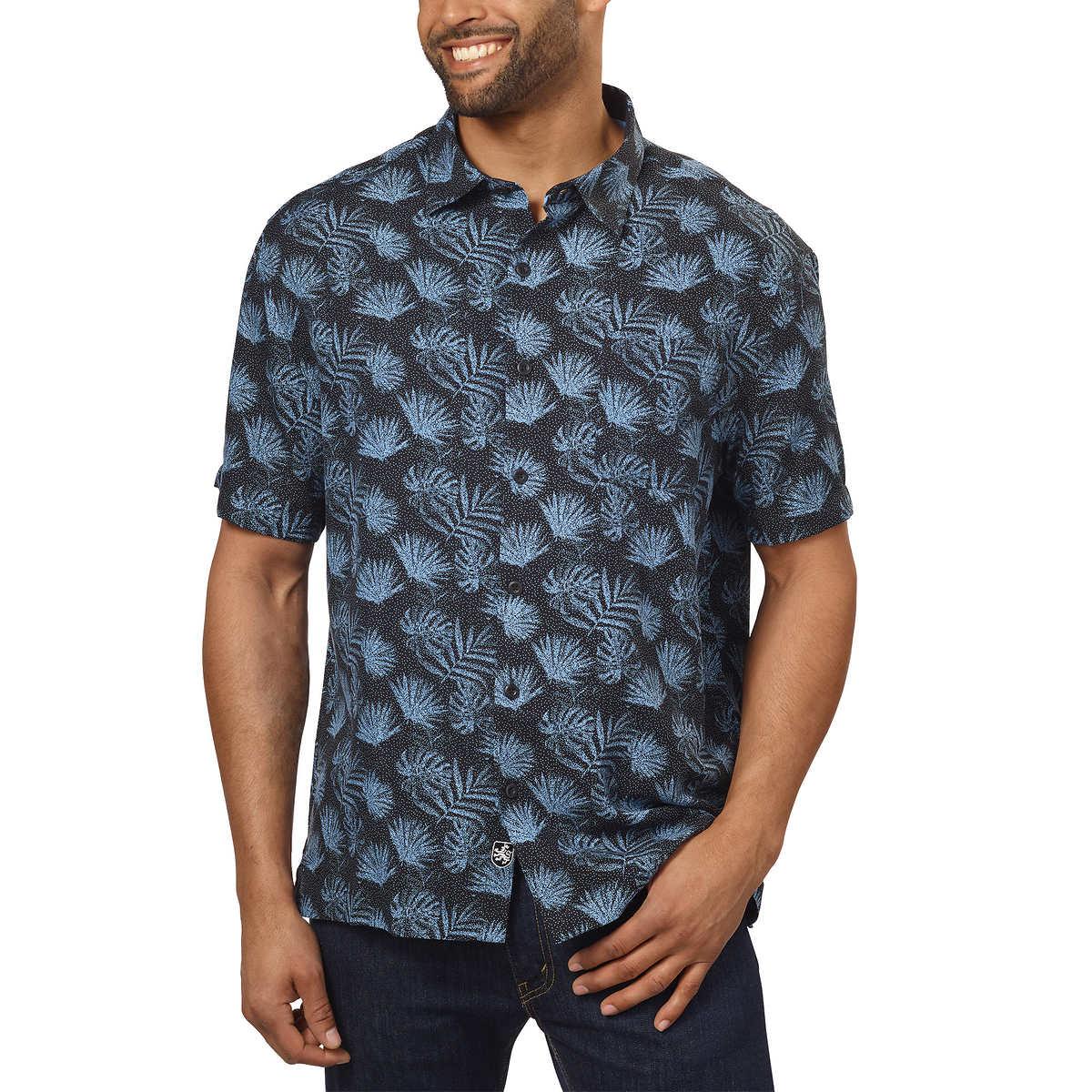 3a017157714 Nat Nast Men's Silk/Cotton Blend Shirt, Printed