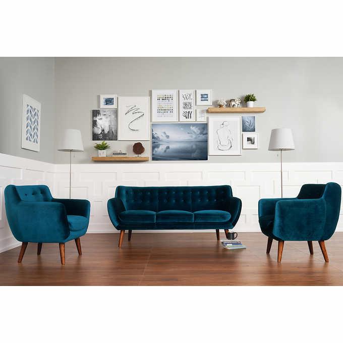 Portofino Home Nelson 3-piece Fabric Set