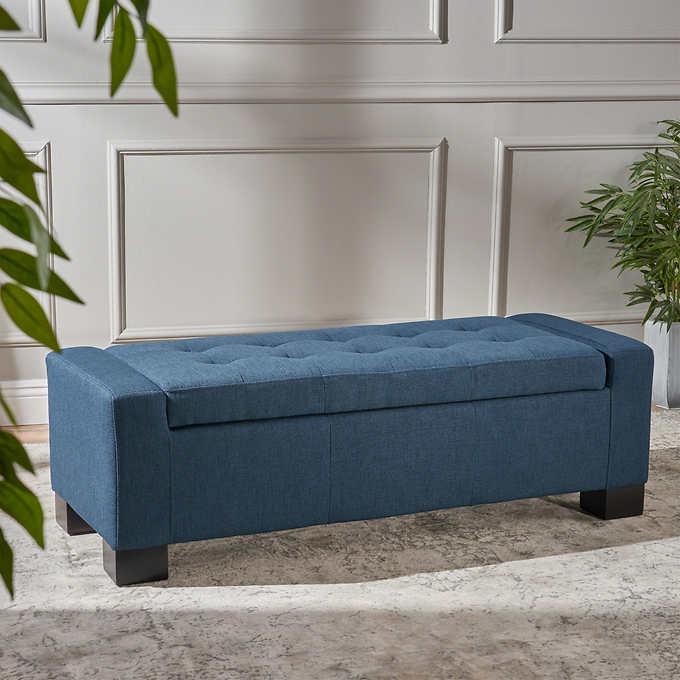 Terrific Ravello Storage Bench Short Links Chair Design For Home Short Linksinfo