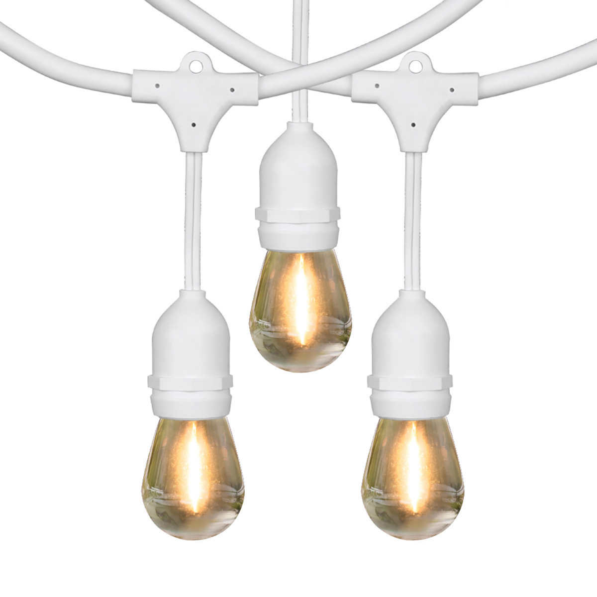 Feit 48 Led Filament String Light Set Wholesale Automatic Buy Cute Control Click To Zoom
