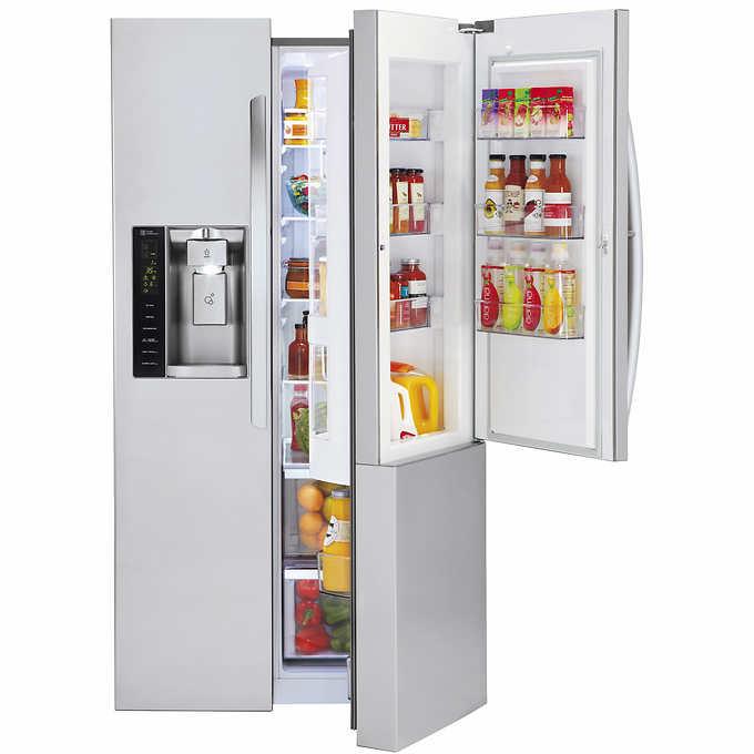 489be271f3f LG 26CuFt Side-by-Side Ultra Large Capacity with Door-in-Door.  stainlesssteel 1 stainlesssteel 1