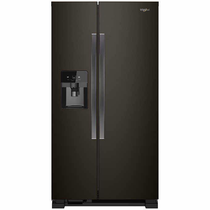 Whirlpool 25CuFt Large Side-by-Side Refrigerator