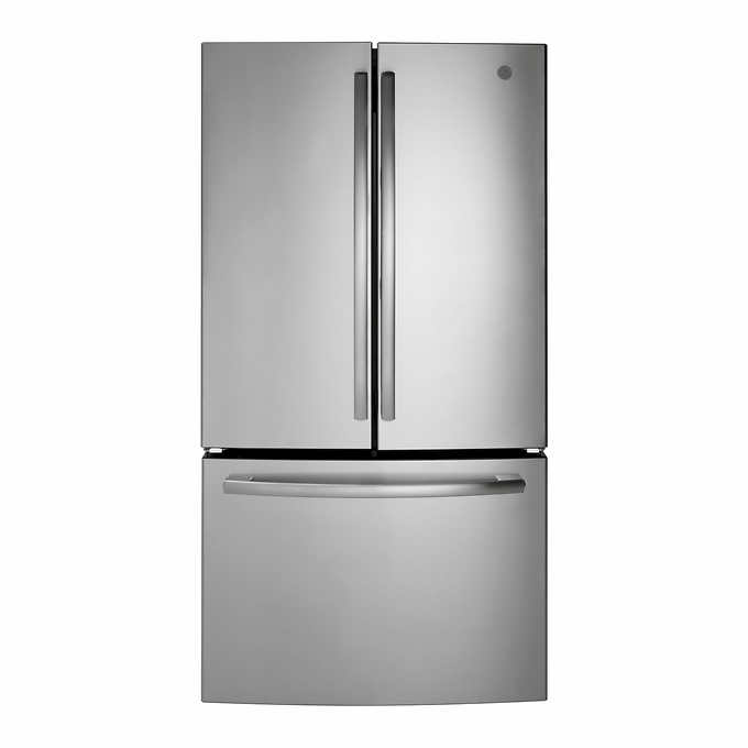 Ge 27 0cuft Energy Star French Door Refrigerator With Internal Water Dispenser