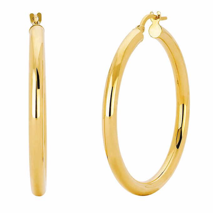 ae591b4ce 14kt Gold Hoop Earrings