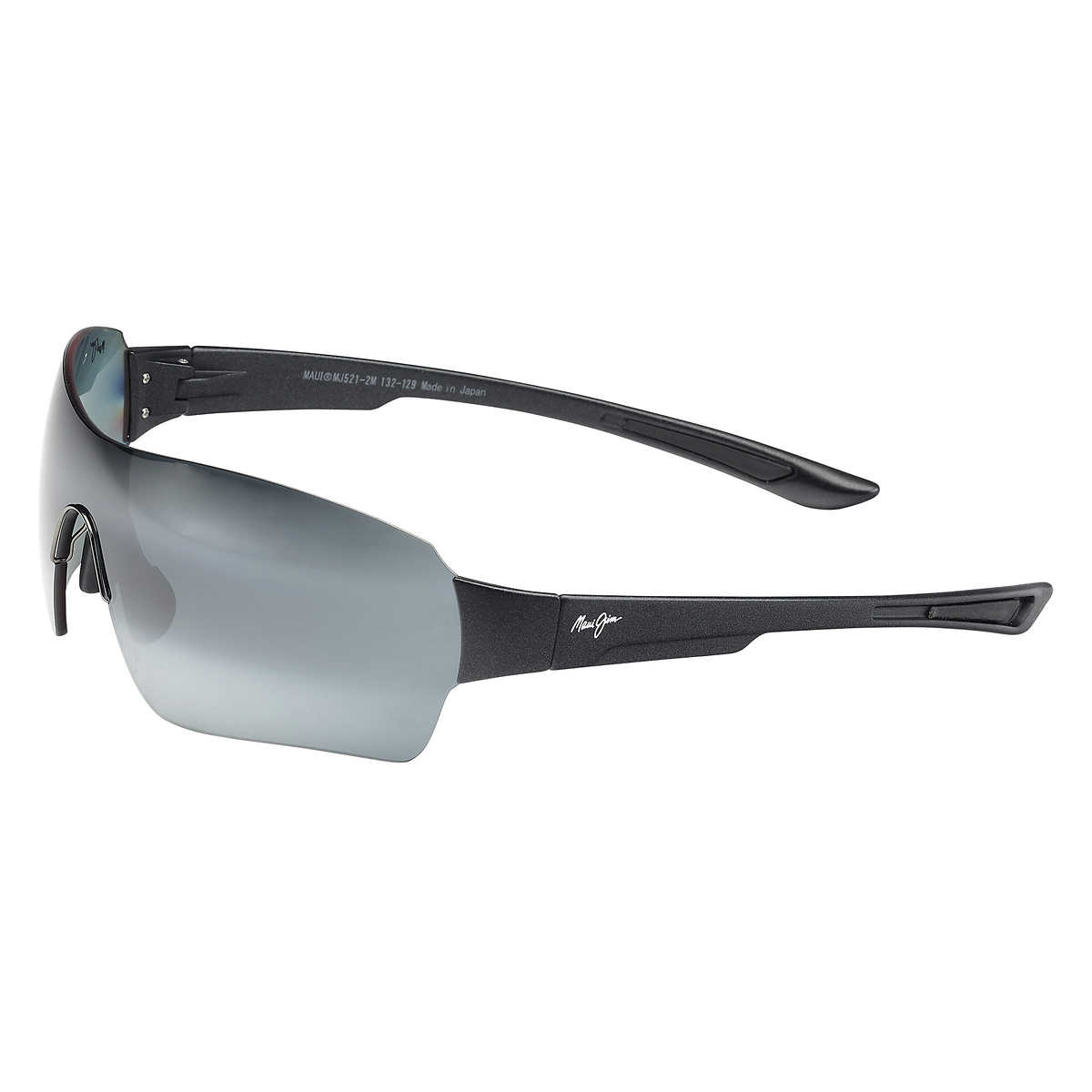 1d9b1fb369f Maui Jim Night Dive 521-2M Matte Black Polarized Sunglasses. 1 1