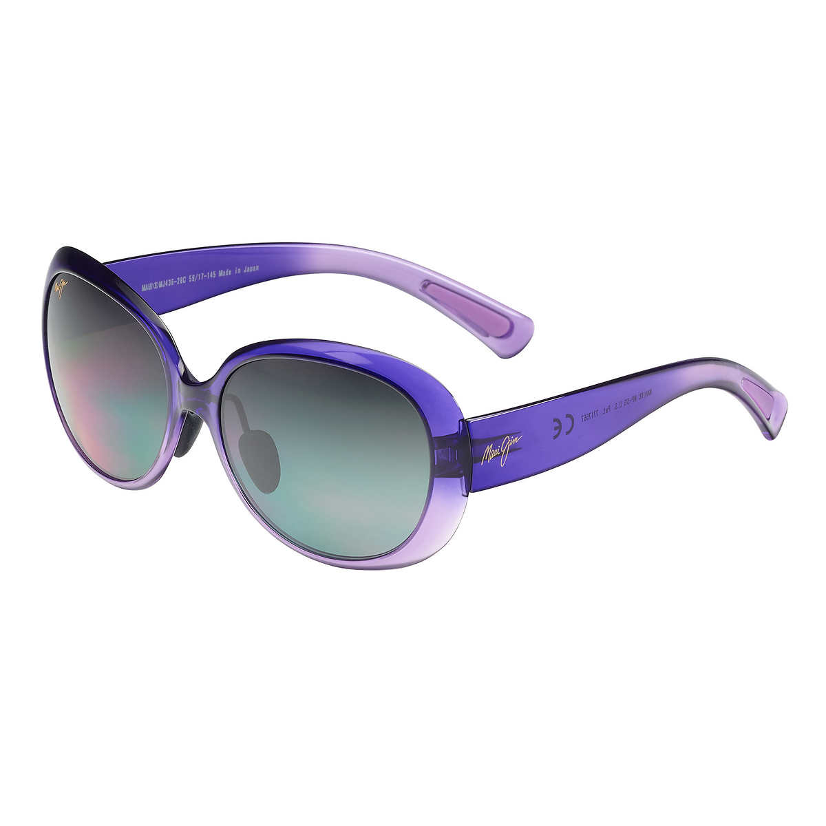 Maui Jim Nahiku GS436-28C Purple Fade Polarized Sunglasses