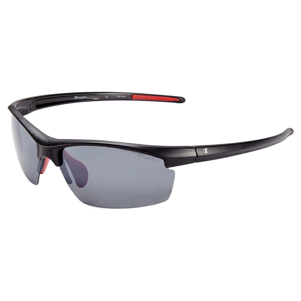0f66de668d Champion CU8023CA Matte Black Polarized Sunglasses. 1 1