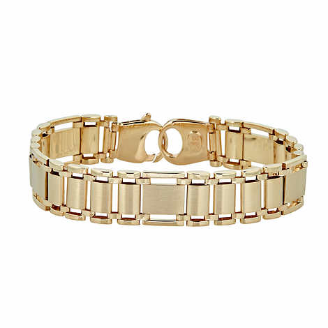 14kt Gold High Polish Bracelet