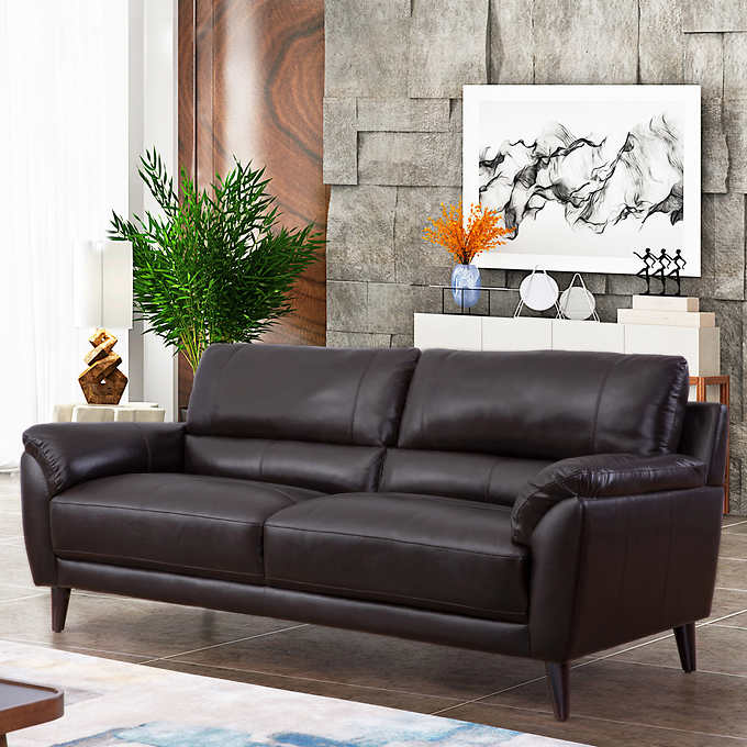 Zamora Top Grain Leather Sofa