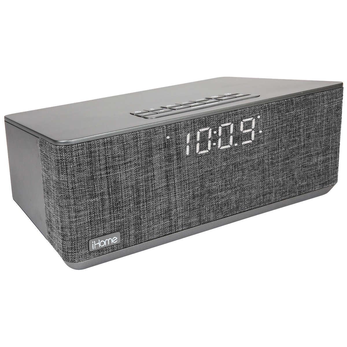 9e25921e8e0 iHome iBT233 Bluetooth Stereo Dual Alarm Clock. 1 1