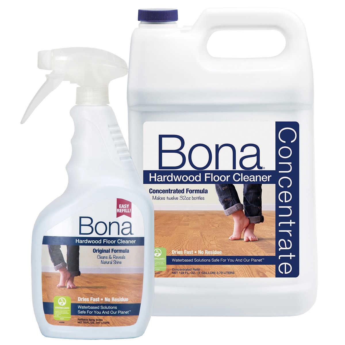Bona Hardwood Floor Cleaner Original 32 Fl Oz 128 Concentrated Formula Refill