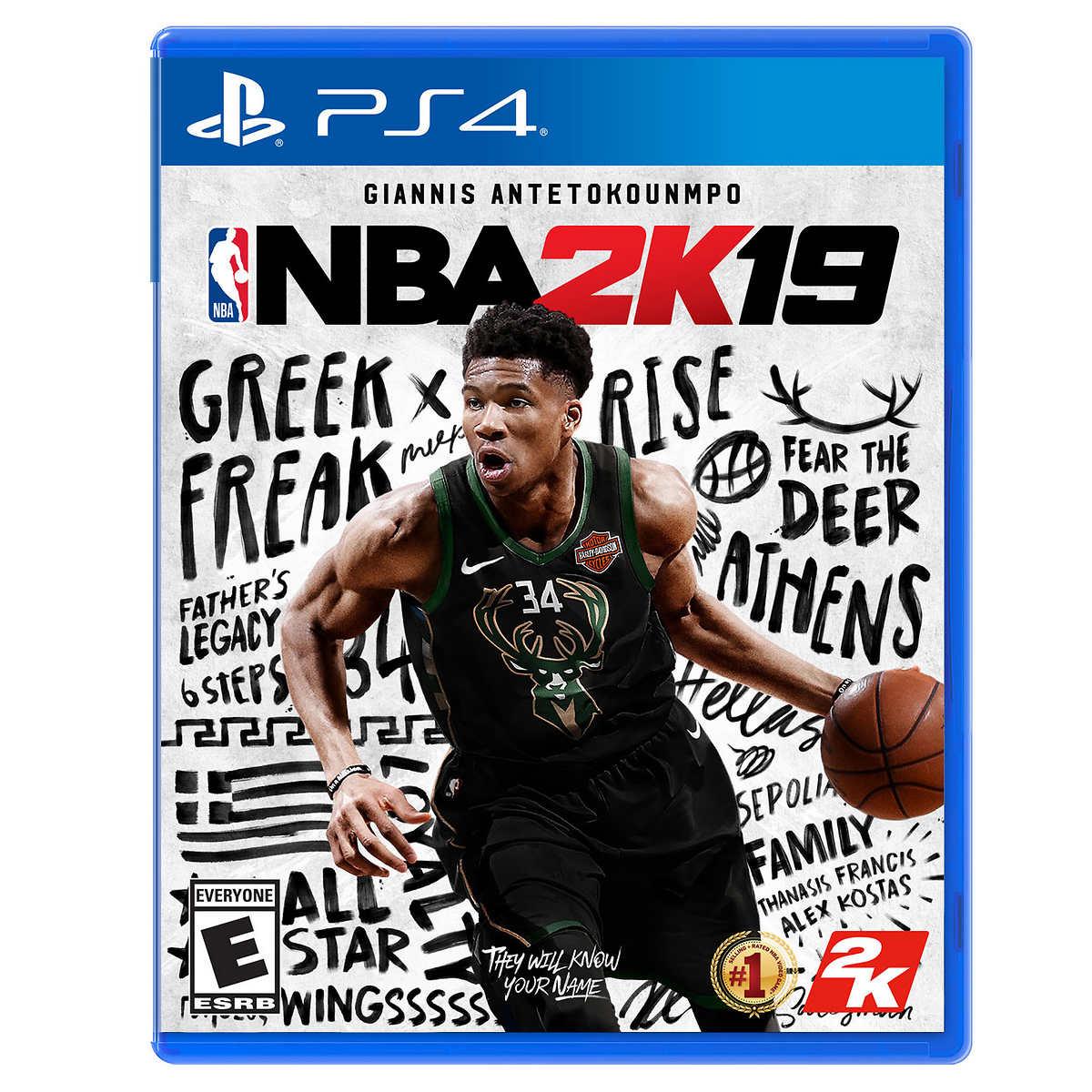 NBA 2K19 PlayStation 4 Video Game