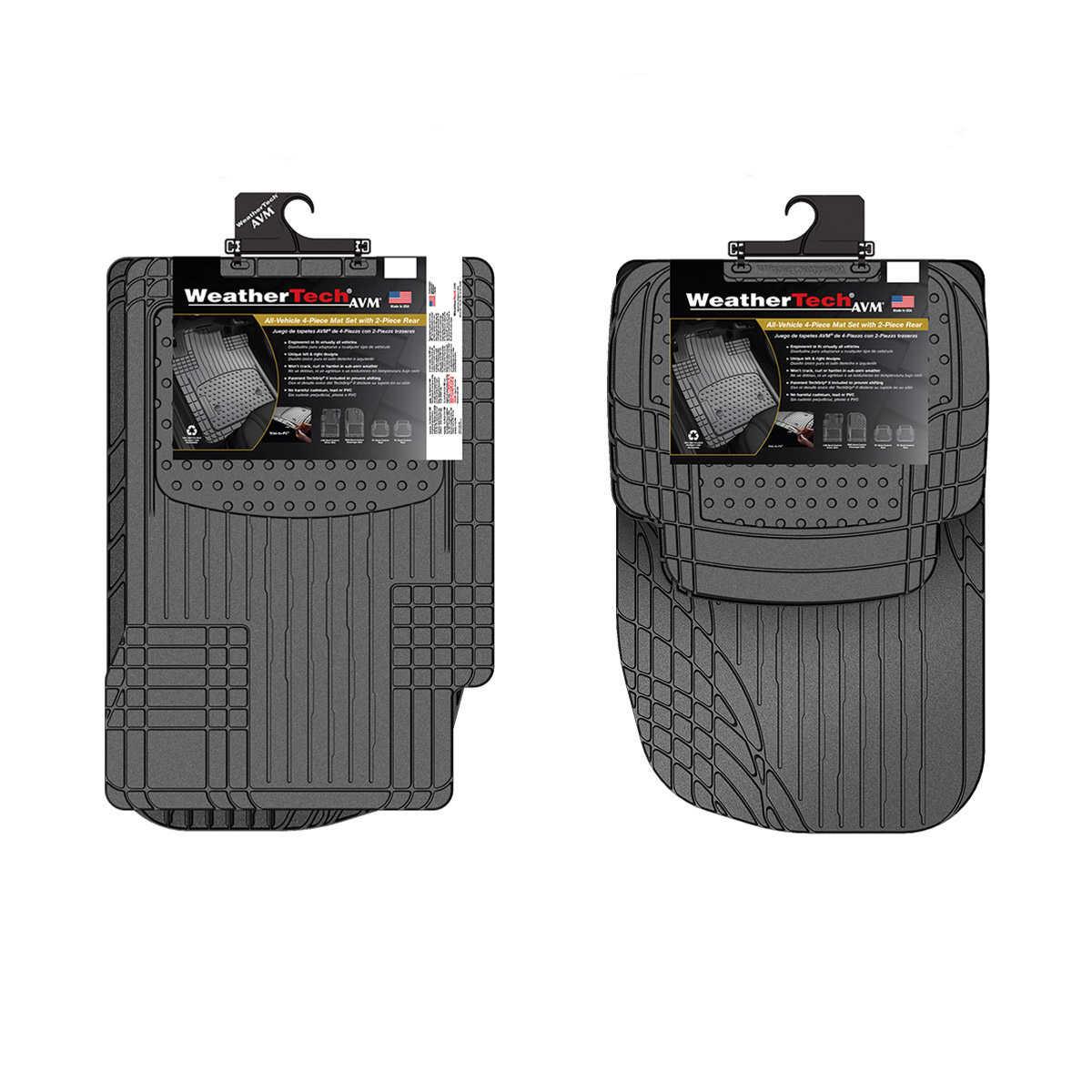 WeatherTech 4-piece Trim-to-Fit Car Mats