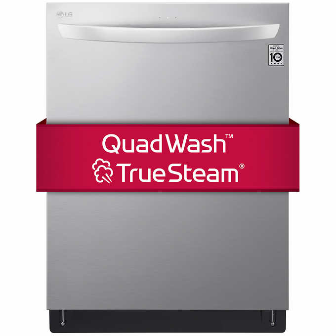 LG Top Control Wi-Fi Enabled Dishwasher with QuadWash