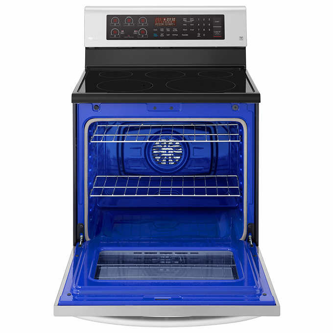 Lg 6 3cuft Electric Single Oven Range With True Convection And Easyclean