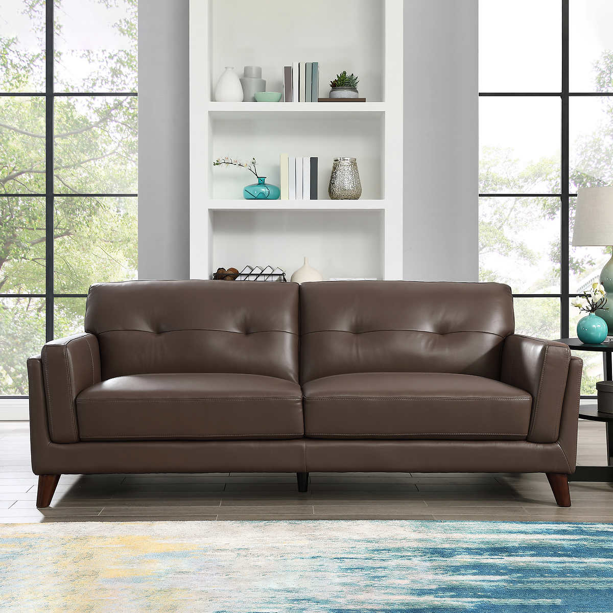 Monterey Top Grain Leather Sofa