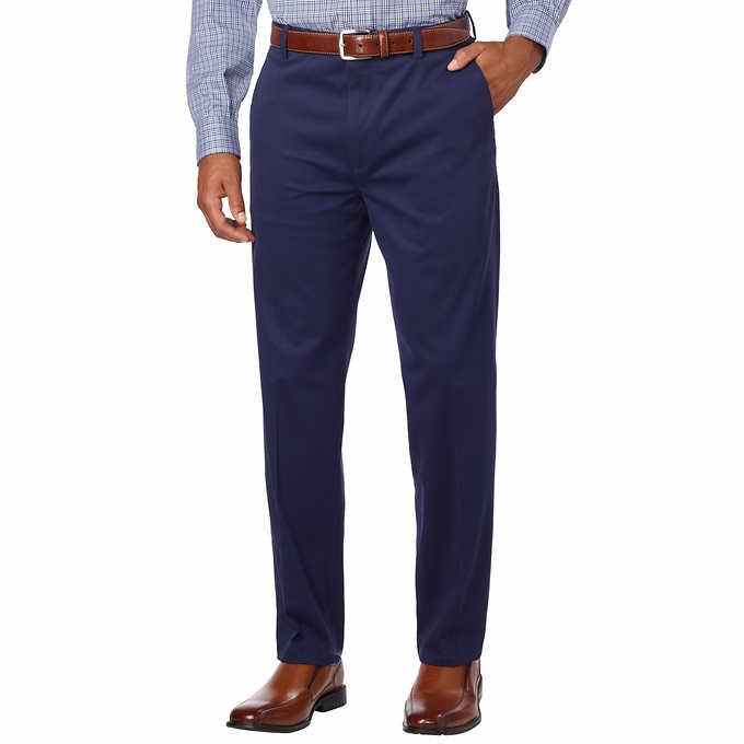 50031dc2b Kirkland Signature Men's Non-Iron Comfort Pant