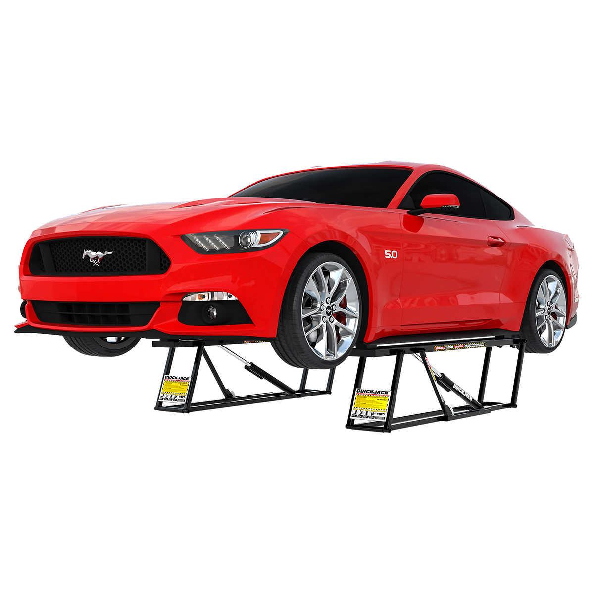 Quickjack 5 000 Lb Capacity Portable Car Lift