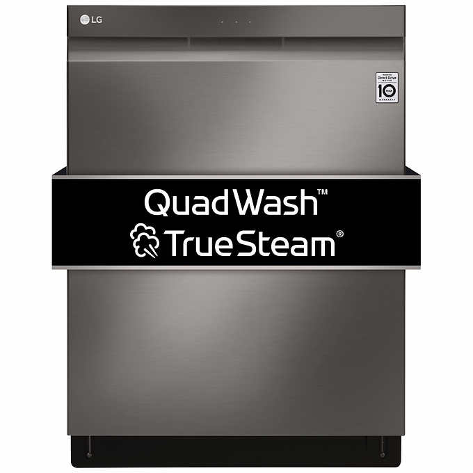 LG Top Control WiFi Enabled Dishwasher with QuadWash and