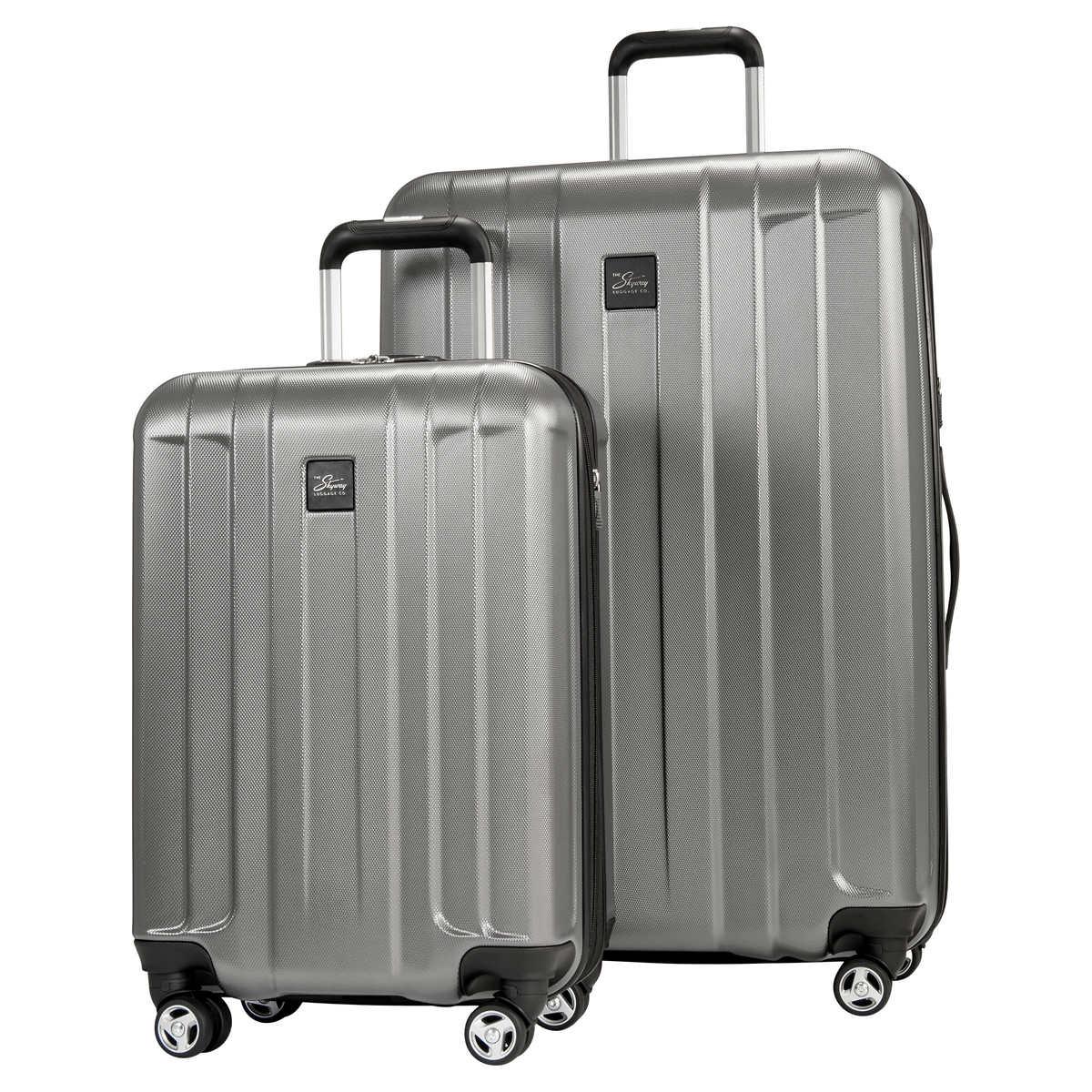 c313ea4c2 Skyway Whittier 2-Piece Expandable Hardside Spinner Luggage Set